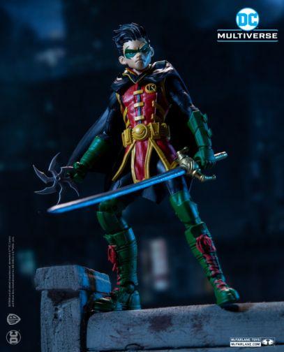 McFarlane Toys - DC Multiverse - Damian Wayne - Robin - 01