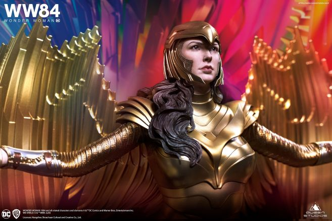 Queen Studios - Wonder Woman 1984 - Golden Armor Wonder Woman - 01