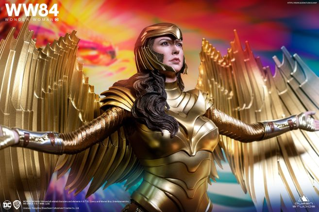 Queen Studios - Wonder Woman 1984 - Golden Armor Wonder Woman - 02