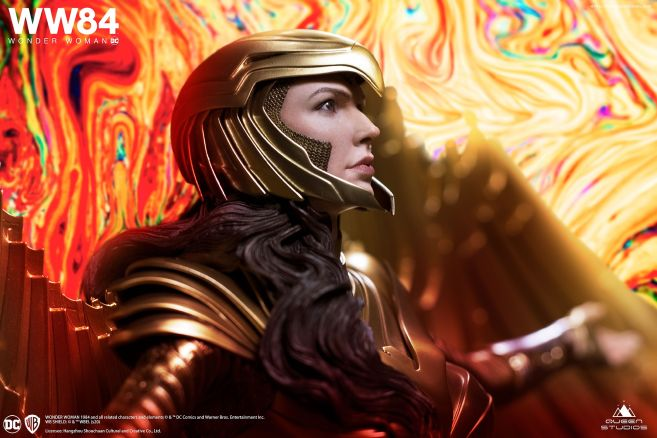 Queen Studios - Wonder Woman 1984 - Golden Armor Wonder Woman - 03