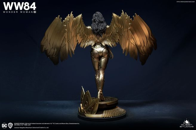 Queen Studios - Wonder Woman 1984 - Golden Armor Wonder Woman - 20