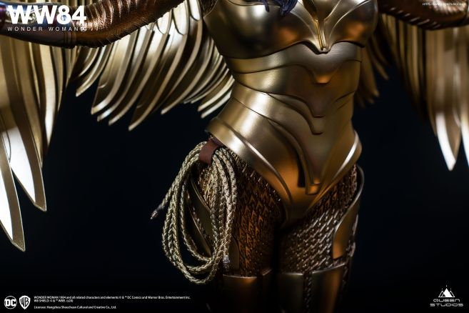 Queen Studios - Wonder Woman 1984 - Golden Armor Wonder Woman - 21