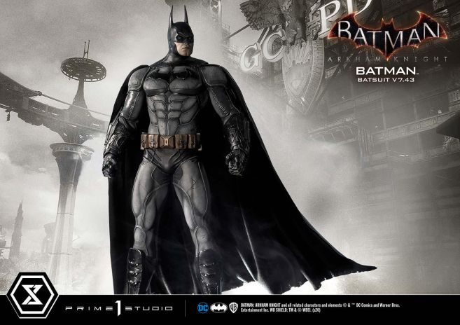 Prime 1 Studio - Batman Arkham Knight - Batman Batsuit V743 - 12
