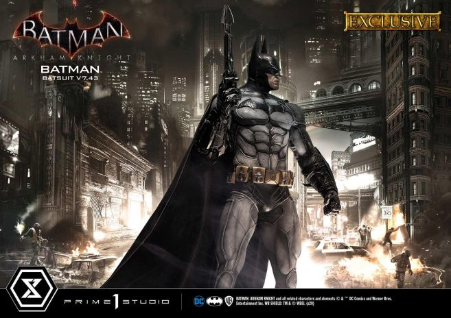 Prime 1 Studio - Batman Arkham Knight - Batman Batsuit V743 - EX - 10