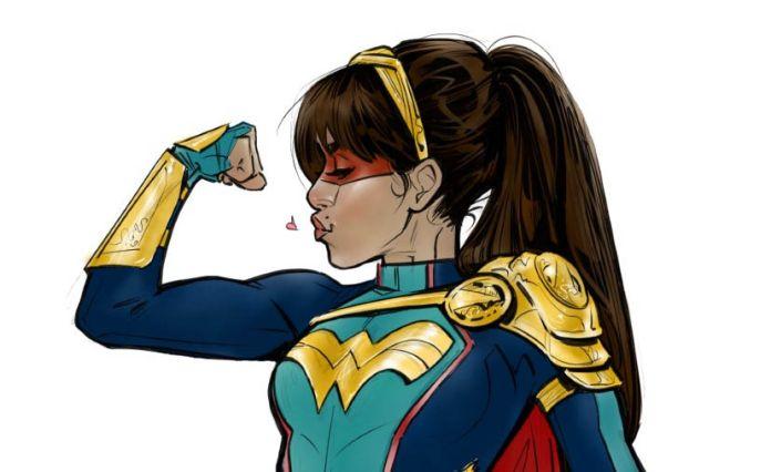 Wonder Girl - The CW - Concept Art