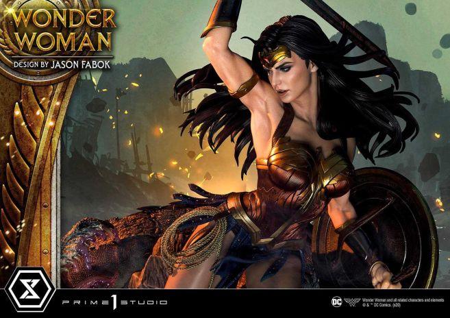 Prime 1 Studio - Wonder Woman - Wonder Woman vs Hydra - 29