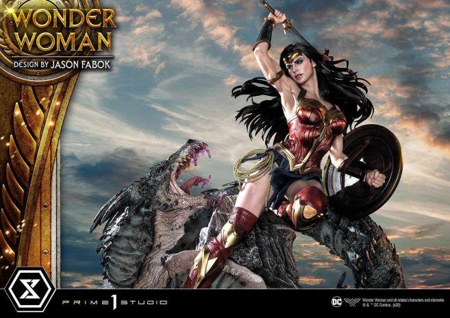 Prime 1 Studio - Wonder Woman - Wonder Woman vs Hydra - 30