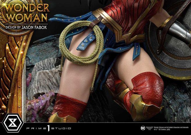 Prime 1 Studio - Wonder Woman - Wonder Woman vs Hydra - 50