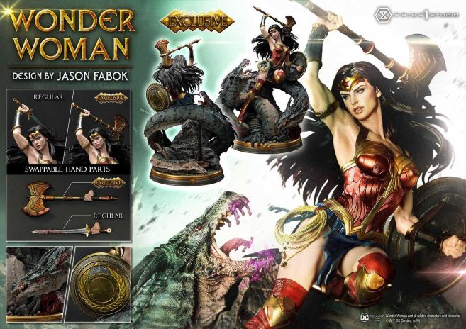 Prime 1 Studio - Wonder Woman - Wonder Woman vs Hydra - 58