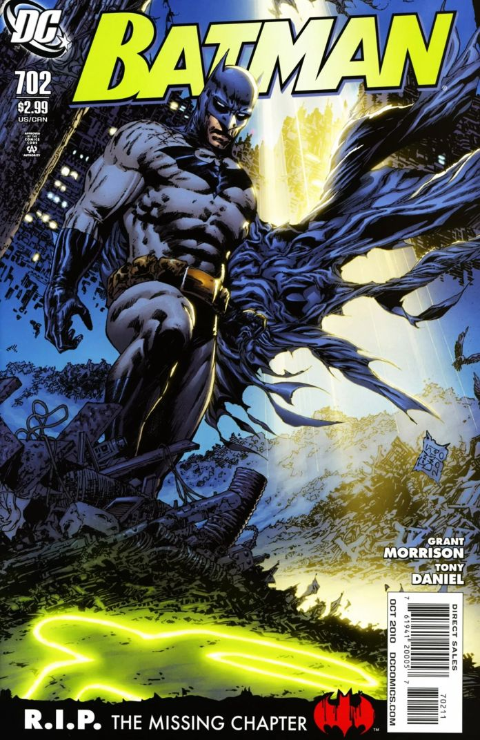 Batman #702 Cover