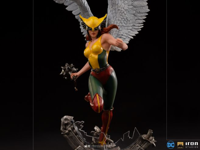 Iron Studios - DC Comics - Hawkgirl - 08