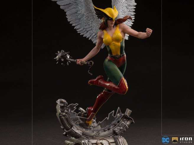Iron Studios - DC Comics - Hawkgirl - 09