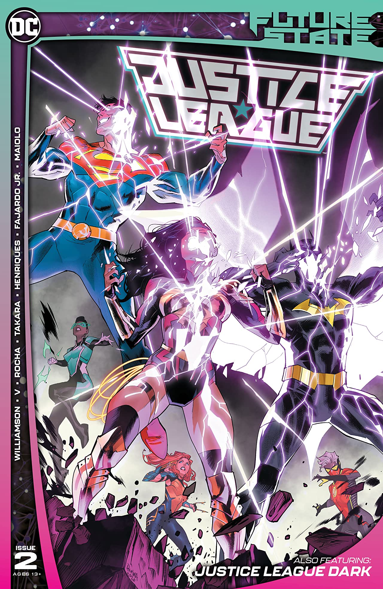 Future State: Justice League #2 Review - The Aspiring Kryptonian