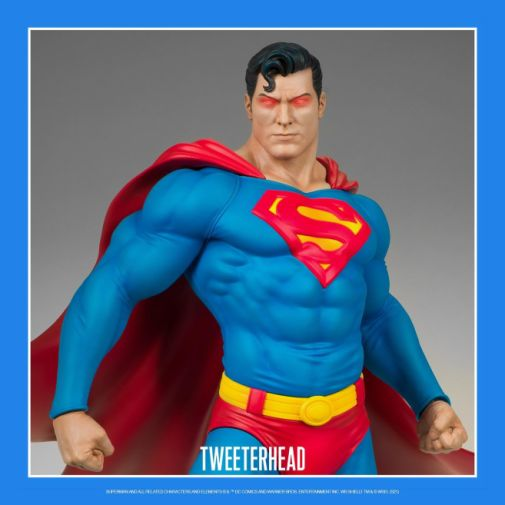 Tweeterhead - Superman - Maquette - 07