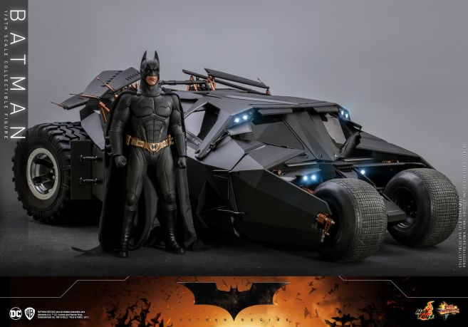 Hot Toys - Batman Begins - Batman and Batmobile - 04