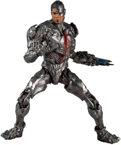 McFarlane Toys - DC Multiverse - Zack Snyders Justice League - Cyborg - 01