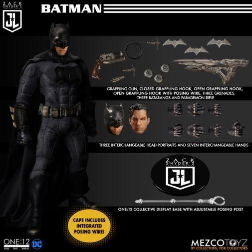 Mezco Toys - Zack Snyders Justice League - Batman - 03