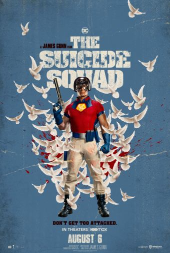 The Suicide Squad - Character Poster - John Cena - Peacemaker - 01