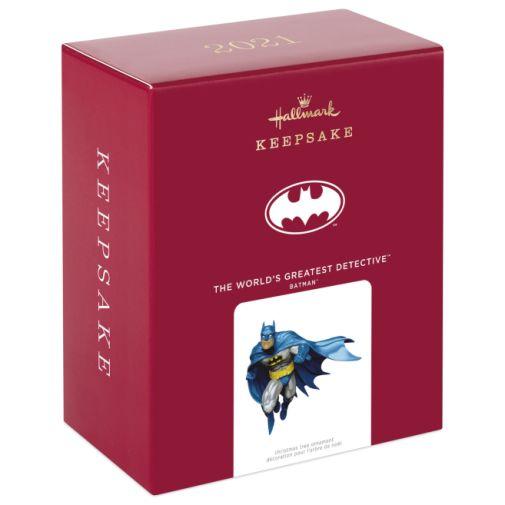 Hallmark - Keepsake Ornaments - 2021 - Batman - The Worlds Greatest Detective - 04