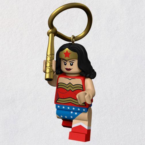 Hallmark - Keepsake Ornaments - 2021 - LEGO - DC Superheroes - Wonder Woman - 01