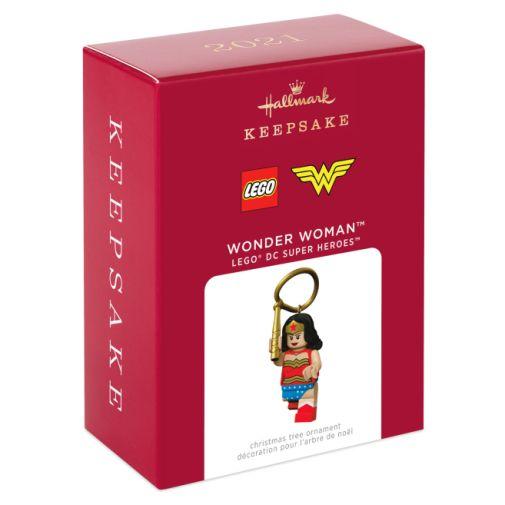 Hallmark - Keepsake Ornaments - 2021 - LEGO - DC Superheroes - Wonder Woman - 04