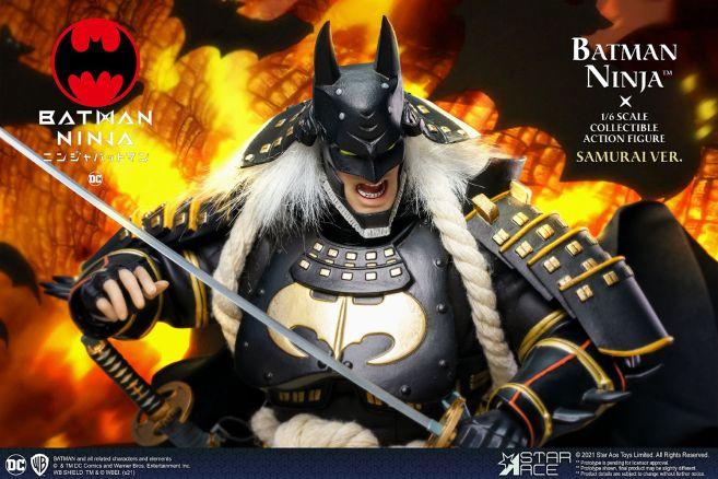 Star Ace Toys - Batman Ninja - Ninja Version With Horse - 12