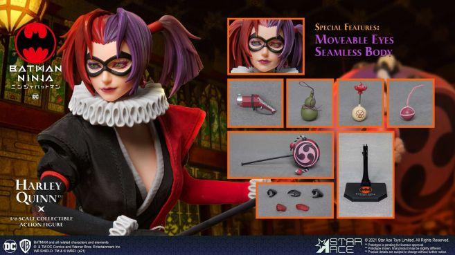 Star Ace Toys - Batman Ninja - Harley Quinn - 05