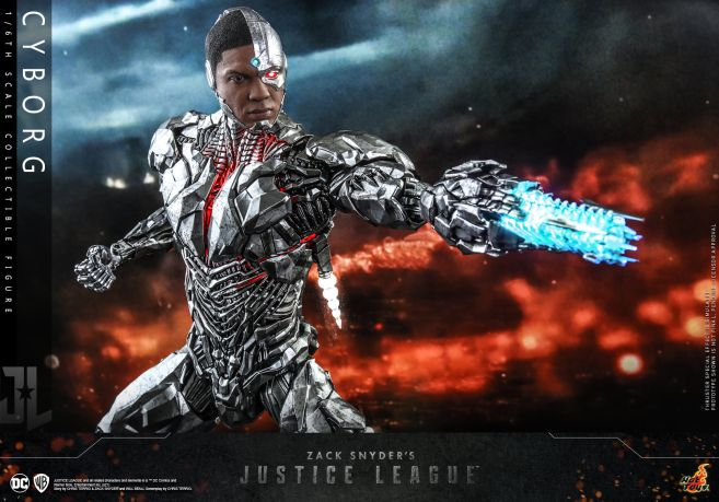 Hot Toys - Zack Snyders Justice League - Cyborg - 13