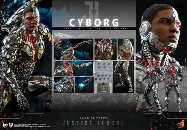 Hot Toys - Zack Snyders Justice League - Cyborg - 18