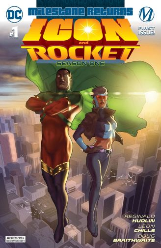Icon and Rocket