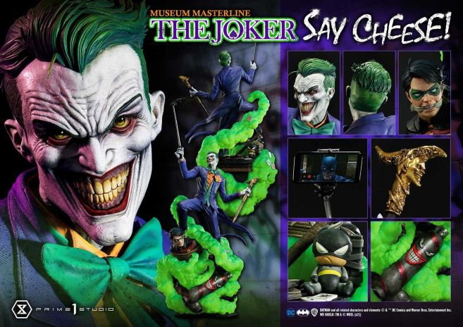 Prime 1 Studio - Comics - Joker - Say Cheese - 121
