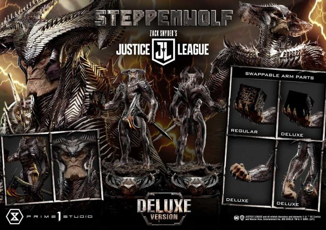 Prime 1 Studio - Zack Snyders Justice League - Steppenwolf - 59