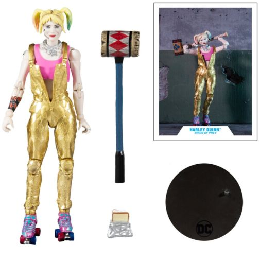 McFarlane Toys - DC Multiverse - Birds of Prey - Harley Quinn - Gold Overalls - 07