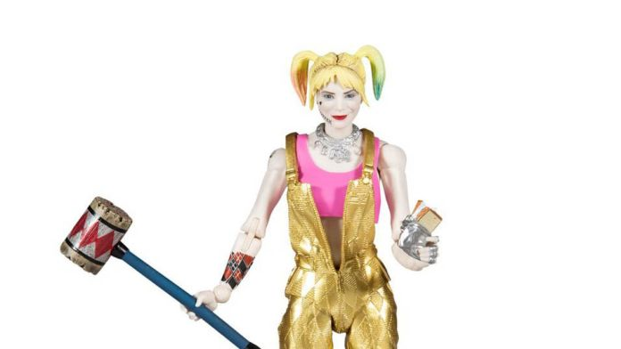 McFarlane Toys - DC Multiverse - Birds of Prey - Harley Quinn - Gold Overalls - Featured - 01