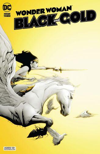 Wonder Woman Black and Gold 3