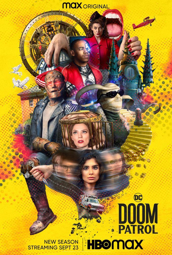 Doom Patrol - Season 3 - Key Art - Poster - 01