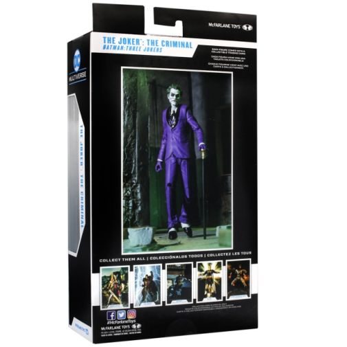 McFarlane Toys - DC Multiverse - Batman - Three Jokers - Joker - Criminal - 09
