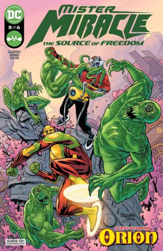 Mister Miracle the Source of Freedom 5