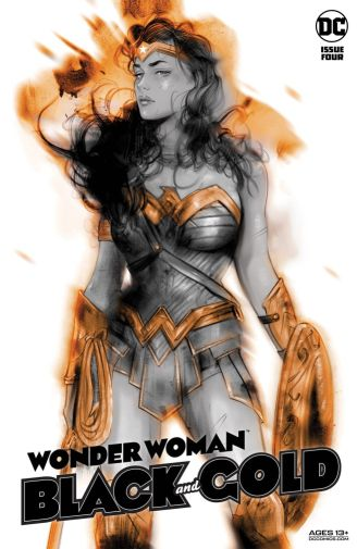 Wonder Woman Black and Gold 4
