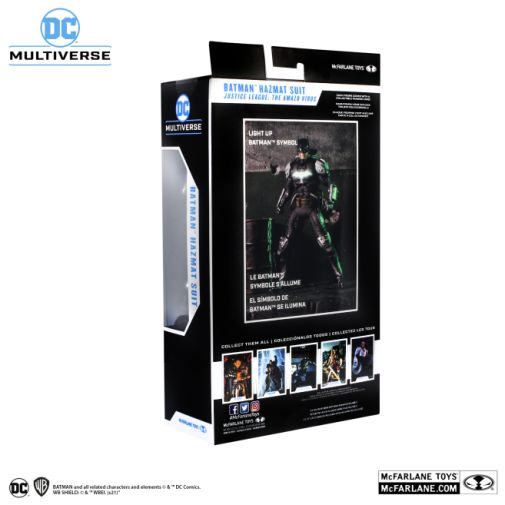 McFarlane Toys - DC Multiverse - Batman - Hazmat Suit Batman - Gold Label - 10