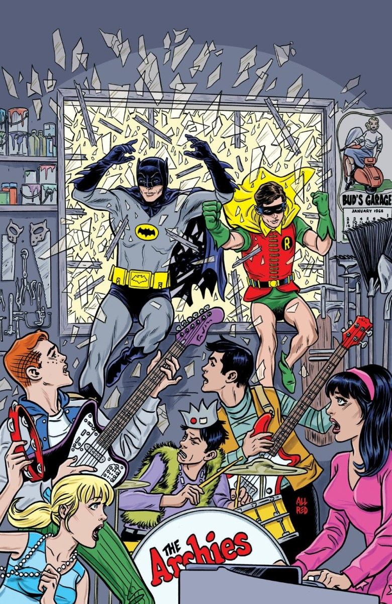 Batman '66 Meet Archie In Upcoming Comic Series