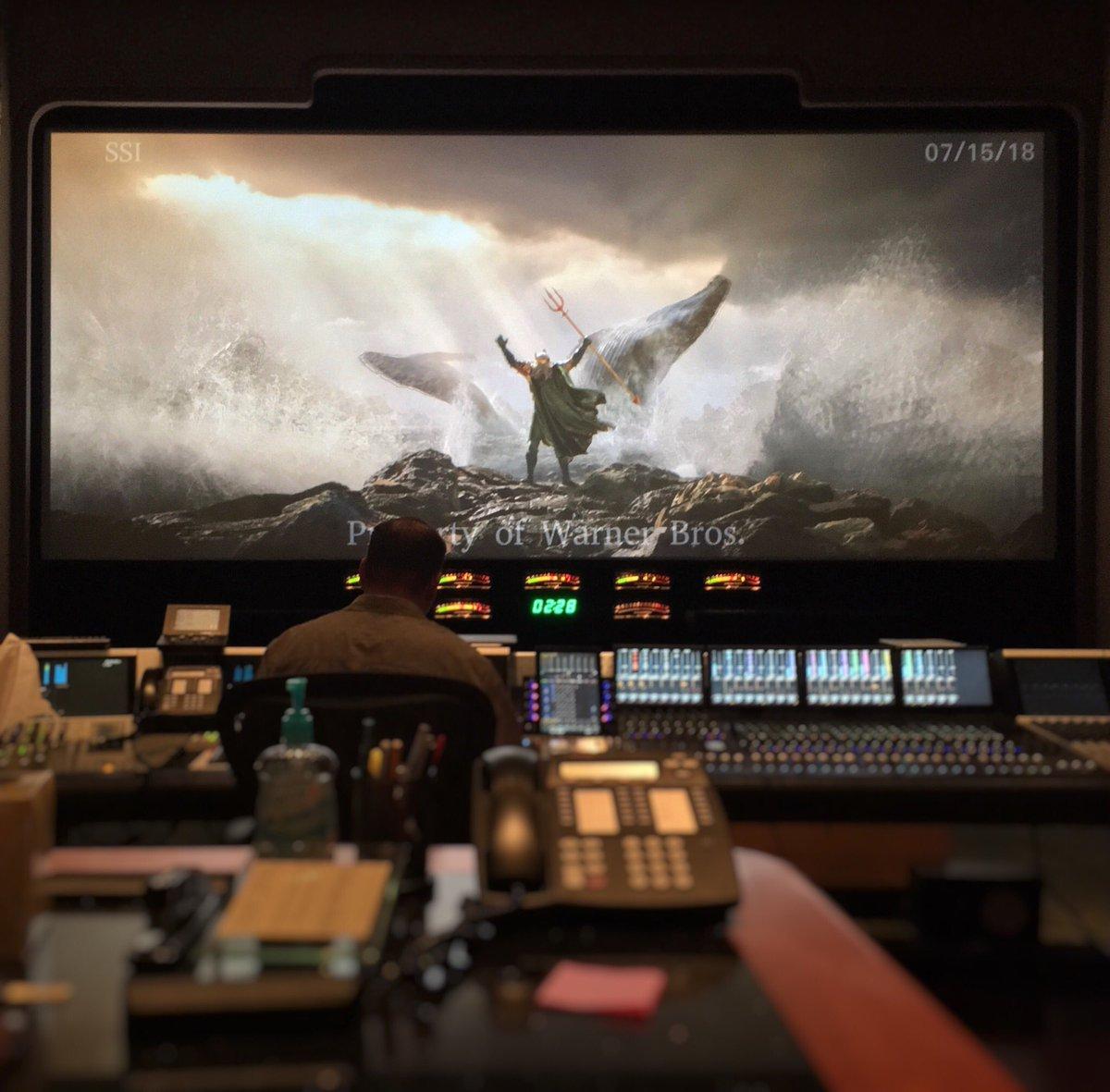 Wan Teases AQUAMAN Trailer