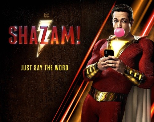 """Just Say the Word"" - New Poster for SHAZAM!"