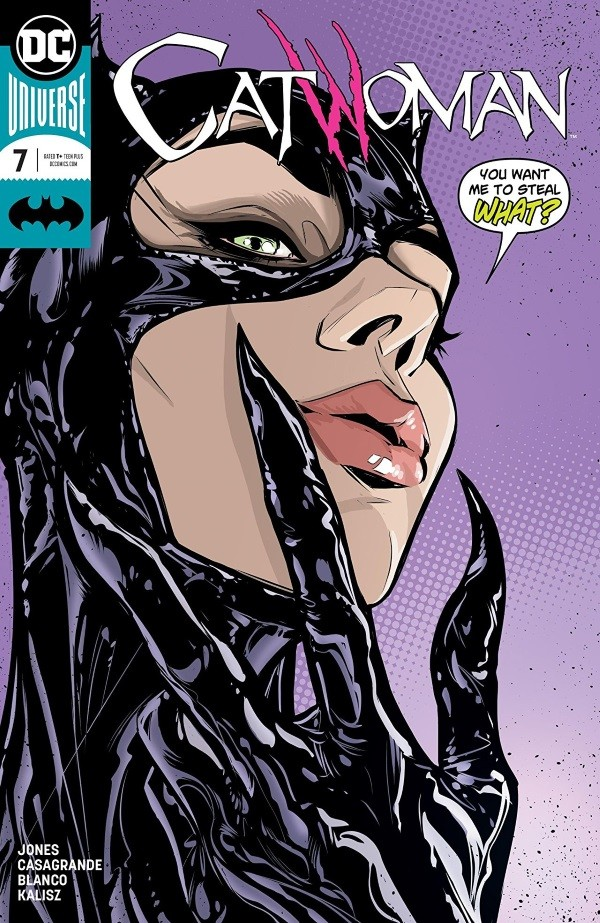CATWOMAN #7 Review by Ryan Lower