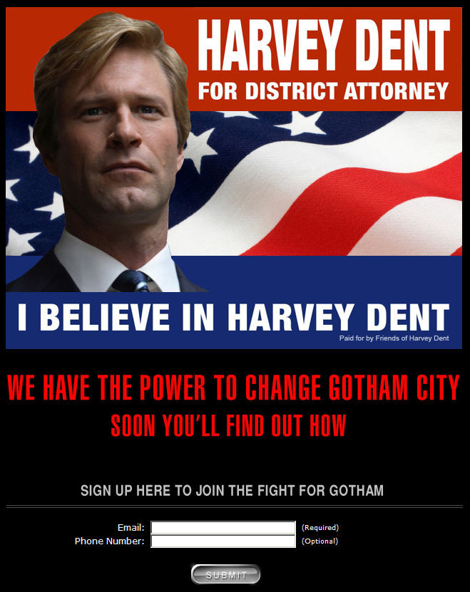 I Believe In Harvey Dent : believe, harvey, Ibelieveinharveydent.com, Batman