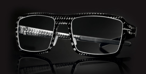 Blac carbon fiber glasses