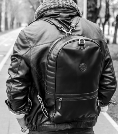 Chivote 2face Backpack Black