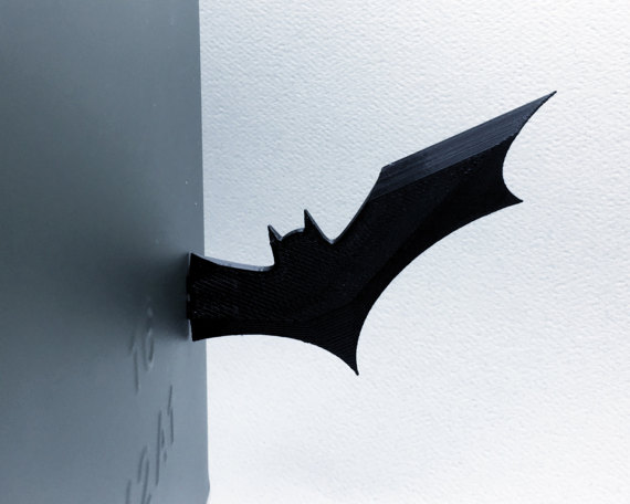 magnetic fridge batarang