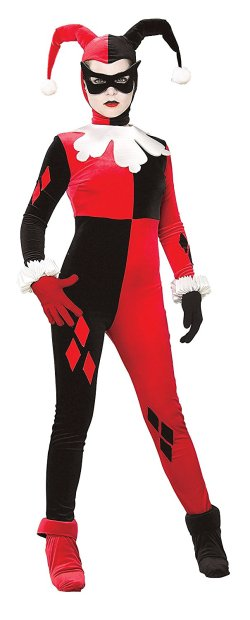 animated series cartoon harley quinn costume