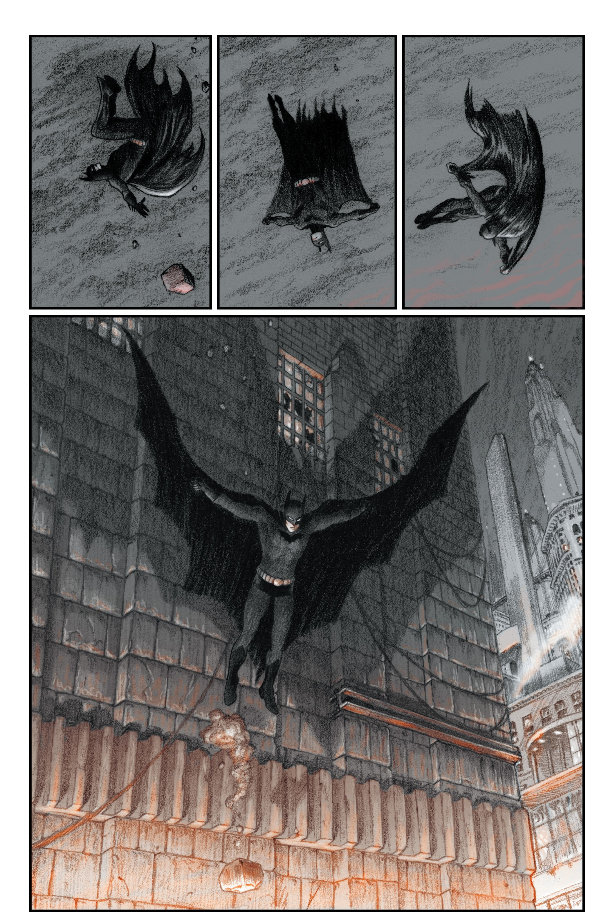 excerpt from Chip Kidd Batman Death By Design